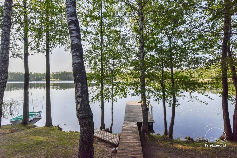 Log house - villa and sauna near Lake Auslo in Zarasai district - homestead AUSLA - 41