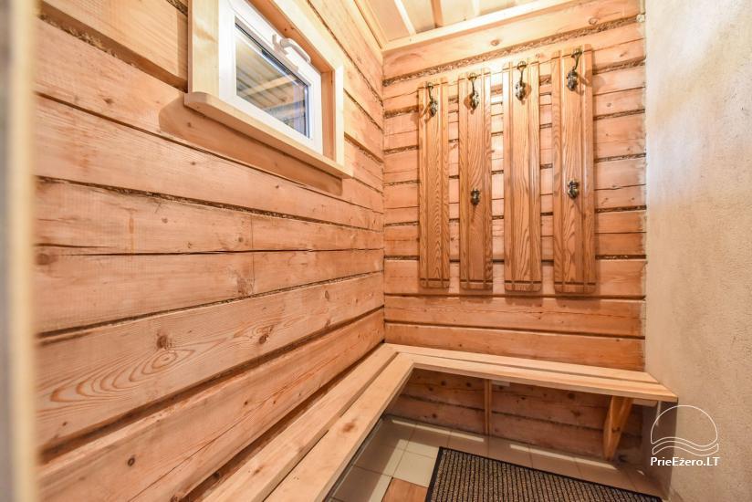 Log house - villa and sauna near Lake Auslo in Zarasai district - homestead AUSLA - 49