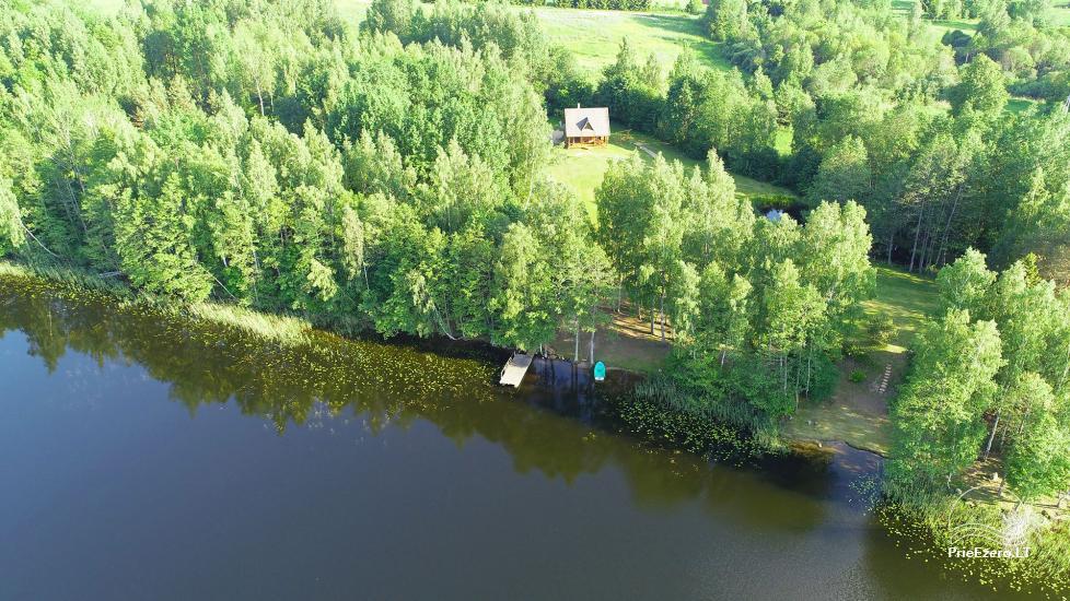 Log house - villa and sauna near Lake Auslo in Zarasai district - homestead AUSLA - 39