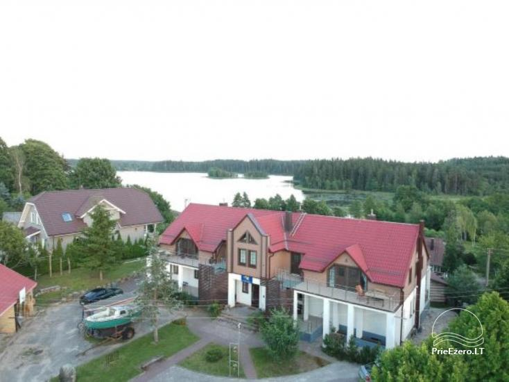 Villa Golden winch near the lake in Lithuania - 1