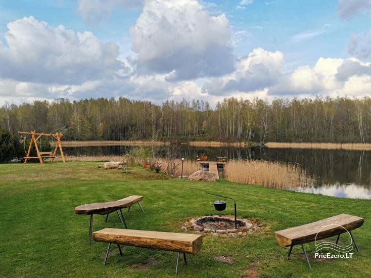Kleines Ferienhaus mit Sauna am See zu vermieten - 2