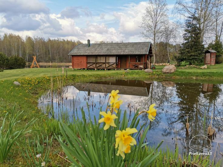 Little holiday house with sauna near the lake for rent - 1
