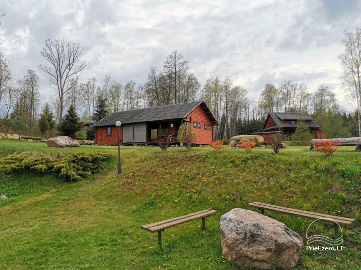Kleines Ferienhaus mit Sauna am See zu vermieten - 3