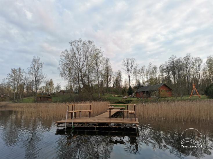 Kleines Ferienhaus mit Sauna am See zu vermieten - 4