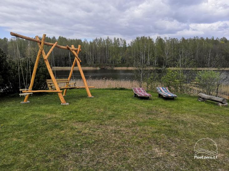 Kleines Ferienhaus mit Sauna am See zu vermieten - 6