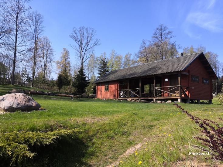 Kleines Ferienhaus mit Sauna am See zu vermieten - 8