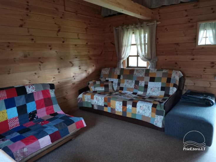 Little holiday house with sauna near the lake for rent - 9