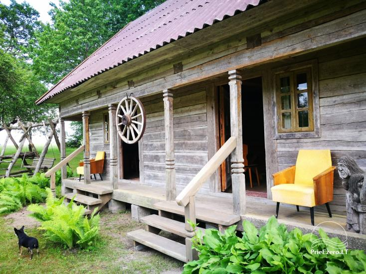 Countryside homestead near the river in Lithuania - 14