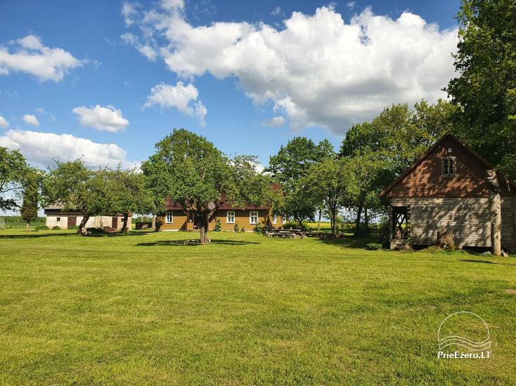 Countryside homestead near the river in Lithuania - 2