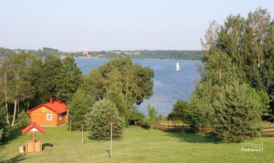 Сельская усадьба в Литве у озера Antalaušiai - 2