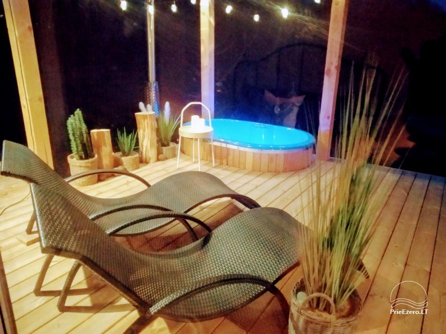 Romantic holiday for two - little holiday house with sauna, outdoor jakuzzi - 1