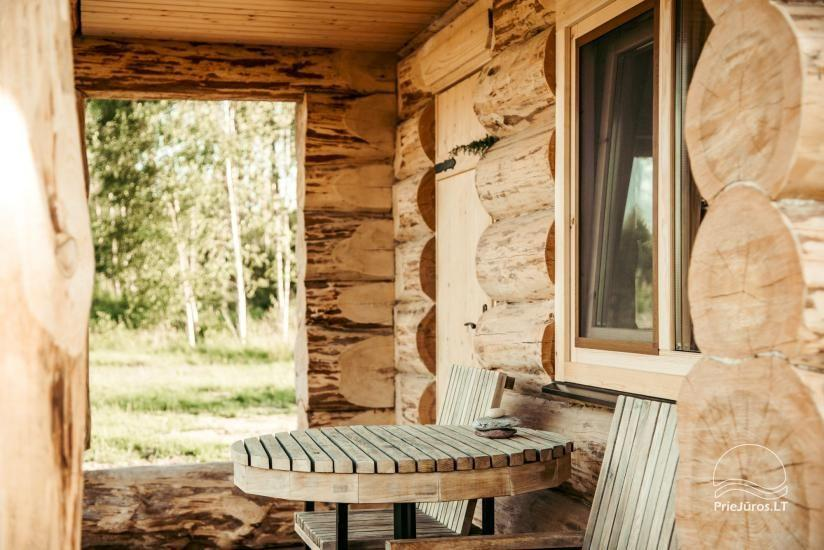Log huts for rent in Jurkalne, Ventspils district Forest SPA & Apartments - 8