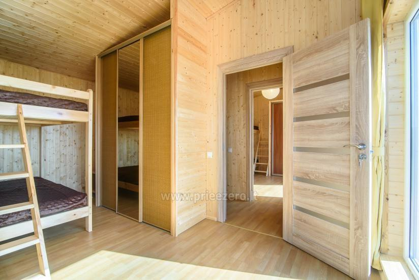 Little holiday houses for rent in Moletai region at the lake - 15