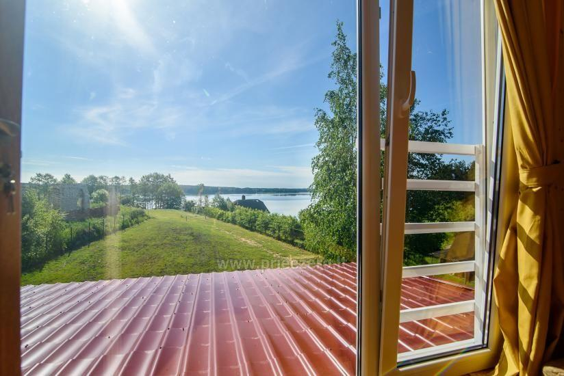 Little holiday houses for rent in Moletai region at the lake - 19
