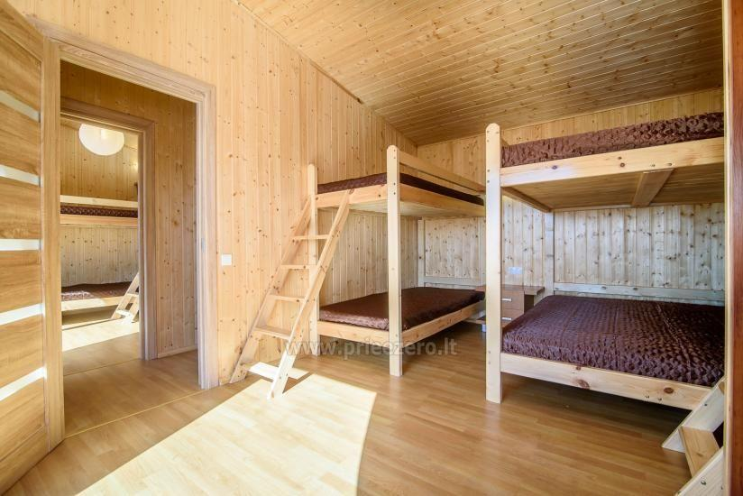 Little holiday houses for rent in Moletai region at the lake - 20