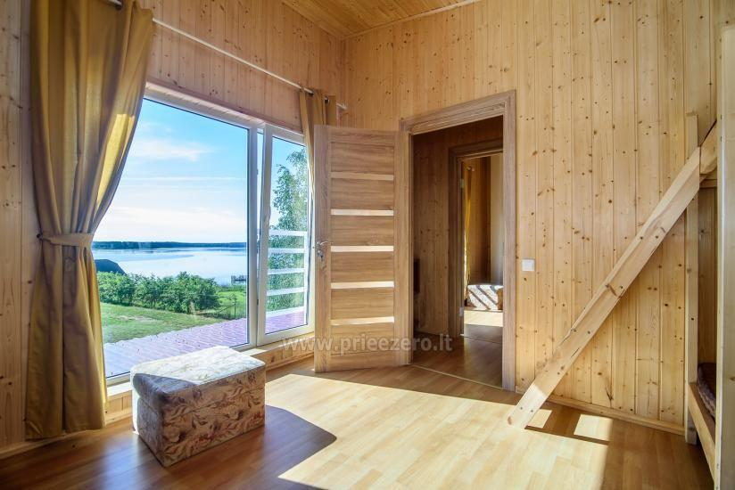 Little holiday houses for rent in Moletai region at the lake - 14