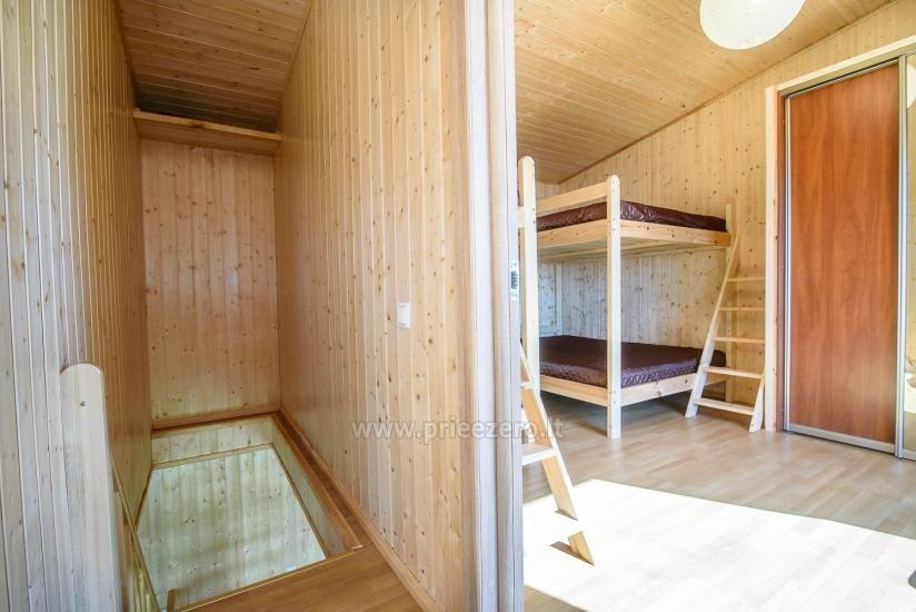 Little holiday houses for rent in Moletai region at the lake - 22