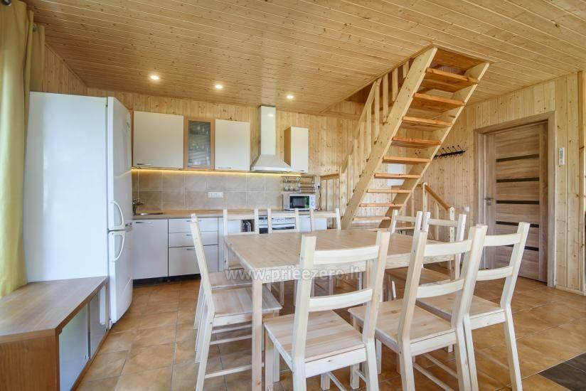 Little holiday houses for rent in Moletai region at the lake - 12