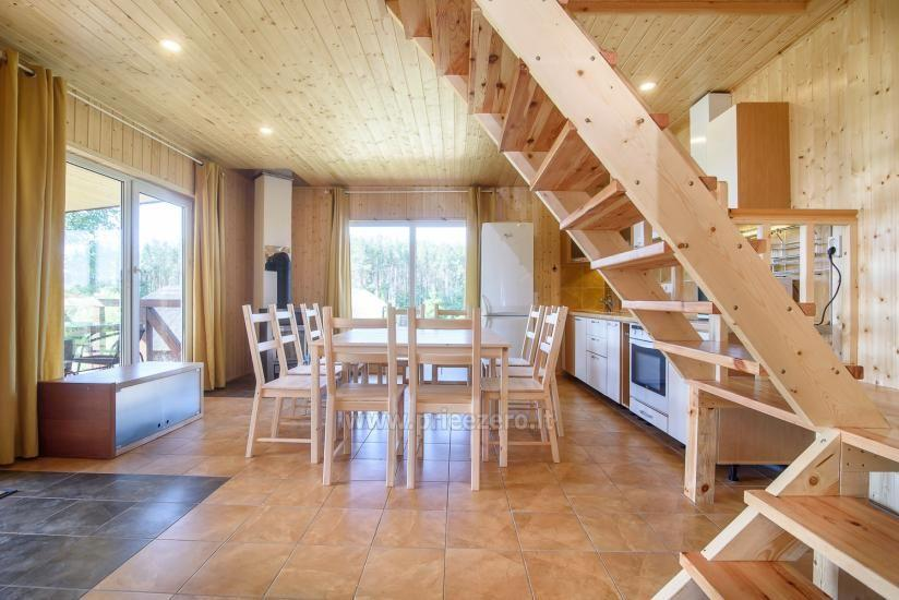 Little holiday houses for rent in Moletai region at the lake - 10