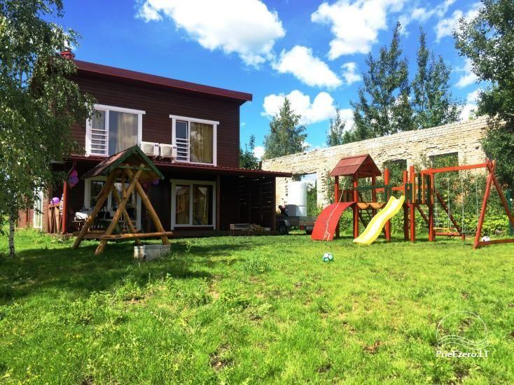 Little holiday houses for rent in Moletai region at the lake - 6