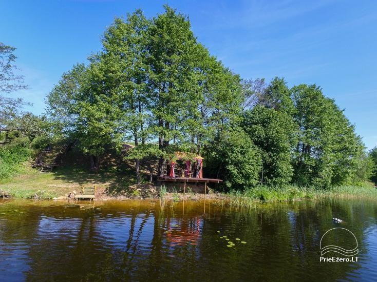 Little holiday houses for rent in Moletai region at the lake - 32