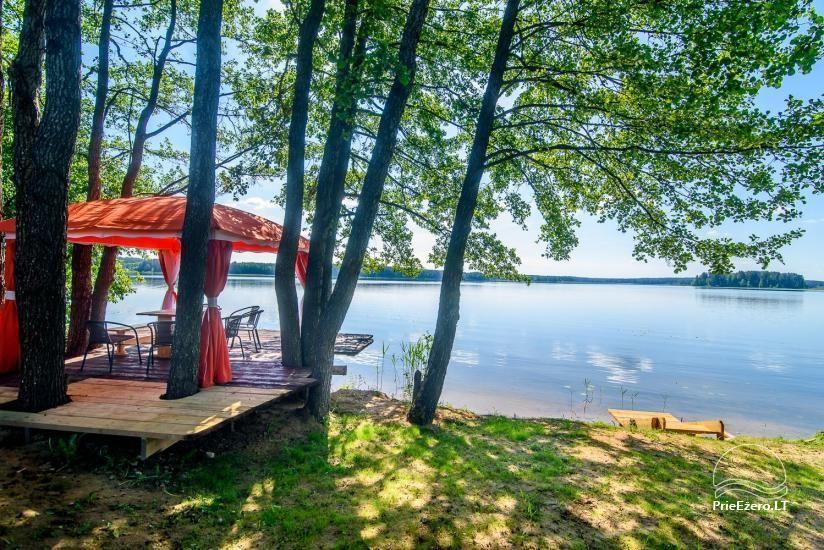 Kleine Ferienhäuser in der Moletai-Region am See zu vermieten - 1