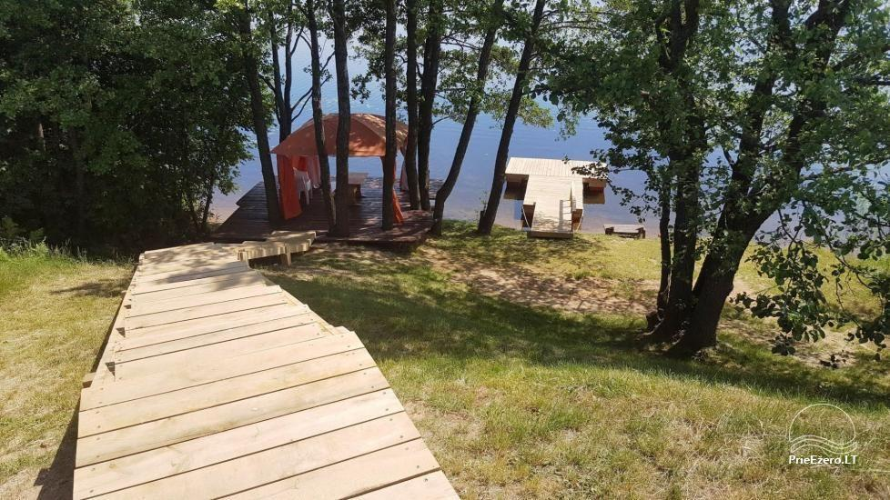 Little holiday houses for rent in Moletai region at the lake - 33