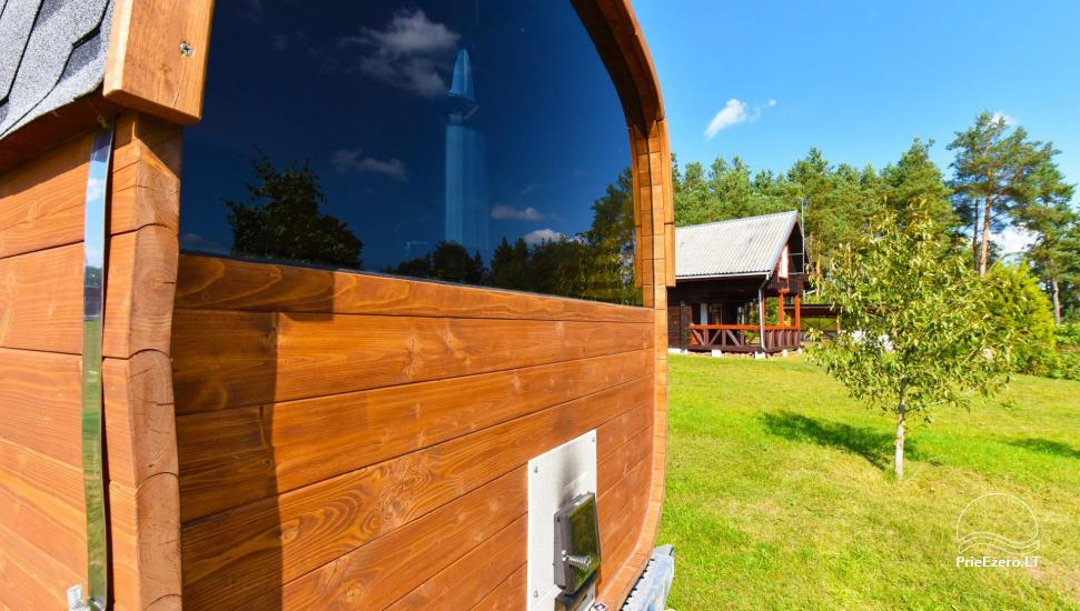Little holiday houses for rent in Moletai region at the lake - 34
