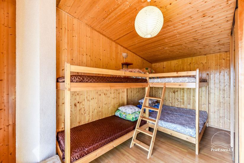 Little holiday houses for rent in Moletai region at the lake - 37