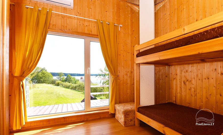 Little holiday houses for rent in Moletai region at the lake - 45
