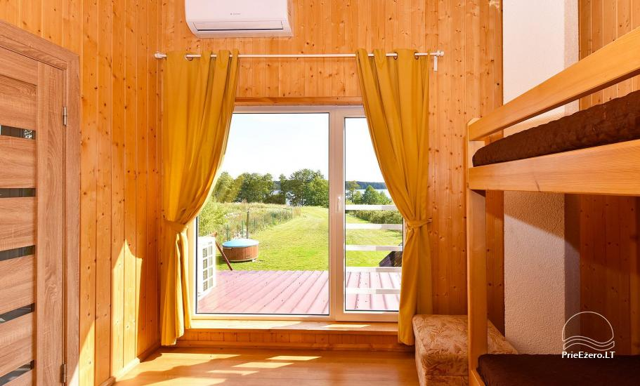 Little holiday houses for rent in Moletai region at the lake - 46