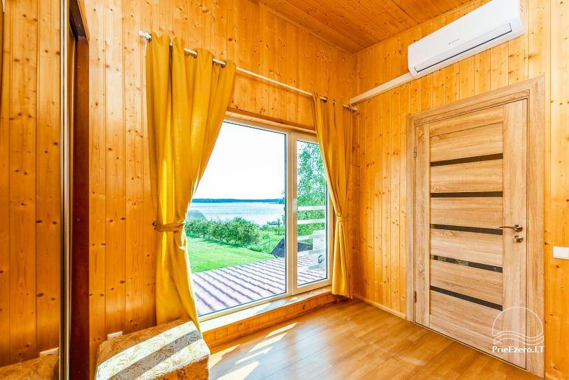 Little holiday houses for rent in Moletai region at the lake - 42