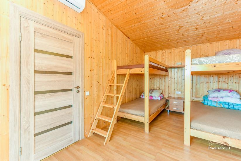 Little holiday houses for rent in Moletai region at the lake - 43