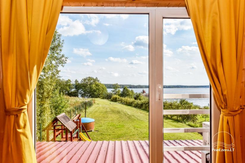Little holiday houses for rent in Moletai region at the lake - 50