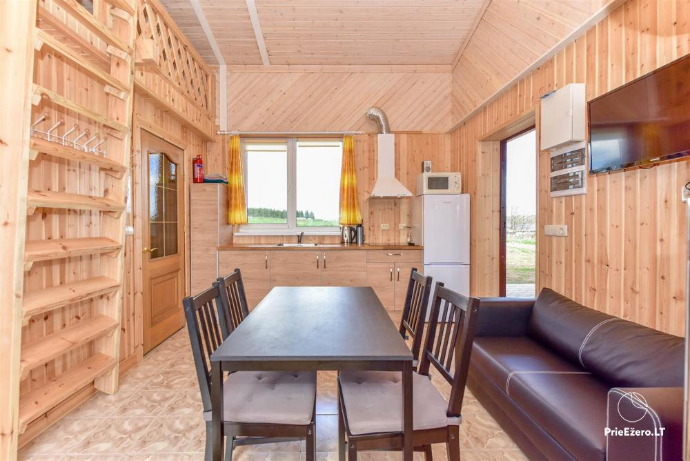Little holiday houses for rent in Moletai region at the lake - 5