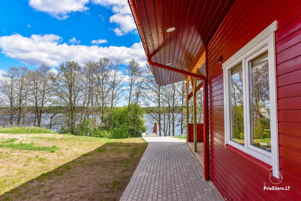 Little holiday houses for rent in Moletai region at the lake - 2