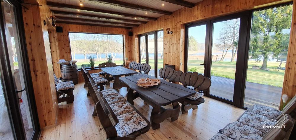 Landhaus Bebryne in der Nähe des Sees Siesarti - 6