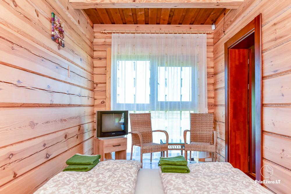 Homestead near Vilnius, on the shore of the lake: horse riding, sandy beach, entertainments - 31