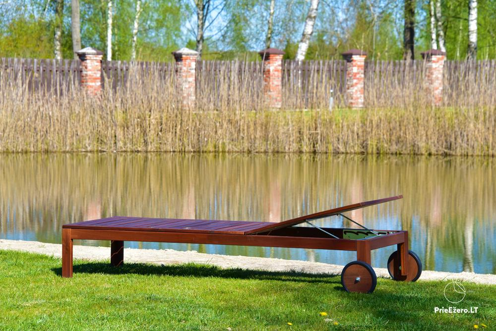 Homestead near Vilnius, on the shore of the lake: horse riding, sandy beach, entertainments - 8