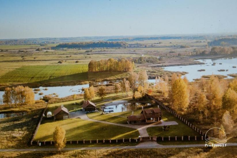 Homestead near Vilnius, on the shore of the lake: horse riding, sandy beach, entertainments - 43