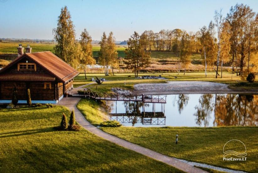 Homestead near Vilnius, on the shore of the lake: horse riding, sandy beach, entertainments - 44
