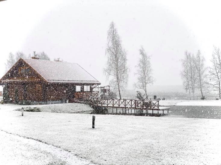 Gehöft auf dem Land - ein Freizeitzentrum in der Region Vilnius in Litauen - 6