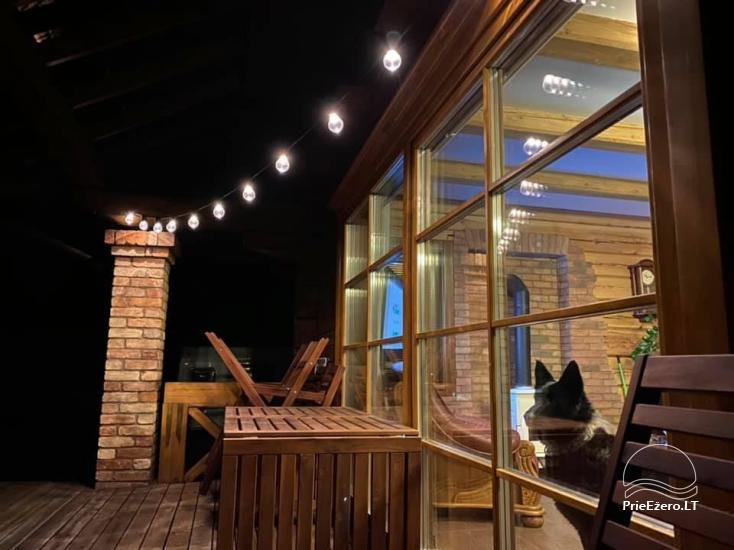 Gehöft auf dem Land - ein Freizeitzentrum in der Region Vilnius in Litauen - 5