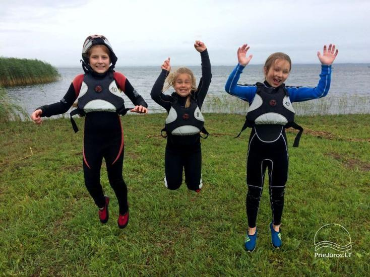 Active camping camps for children and young people by the sea and the Curonian Lagoon - 10