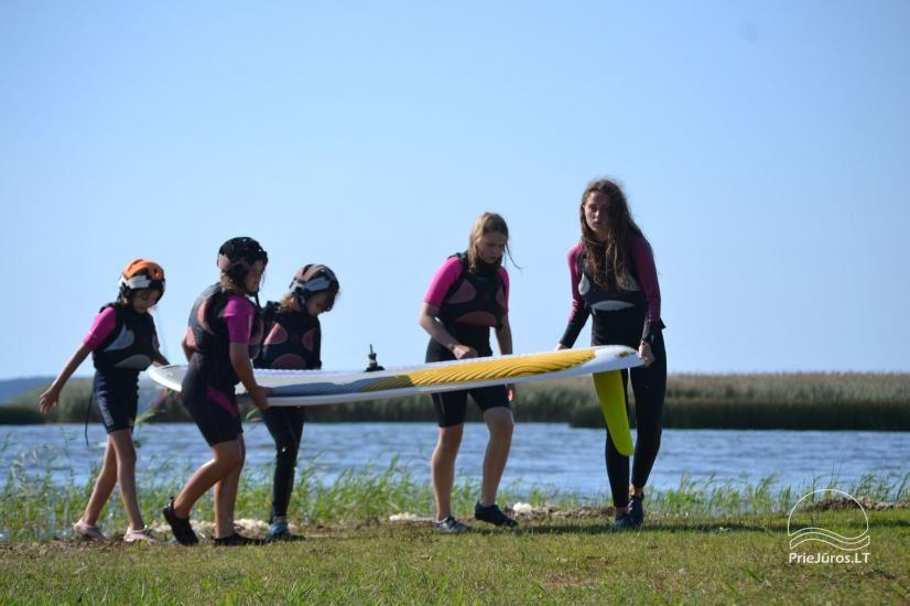 Active camping camps for children and young people by the sea and the Curonian Lagoon - 20