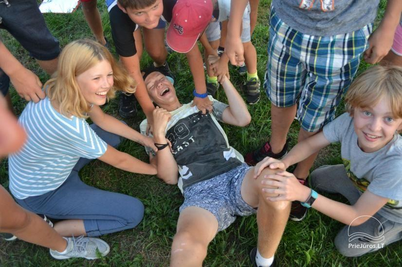 Active camping camps for children and young people by the sea and the Curonian Lagoon - 24