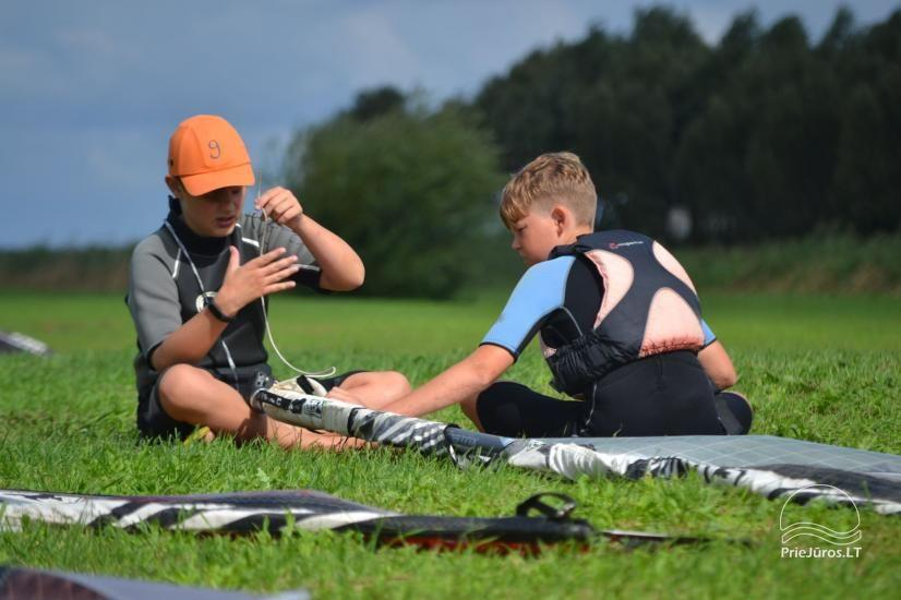 Active camping camps for children and young people by the sea and the Curonian Lagoon - 29