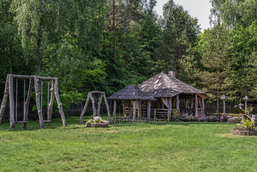 Усадьба Laukdvaris в Кретингском районе возле реки Швянтойи - 11