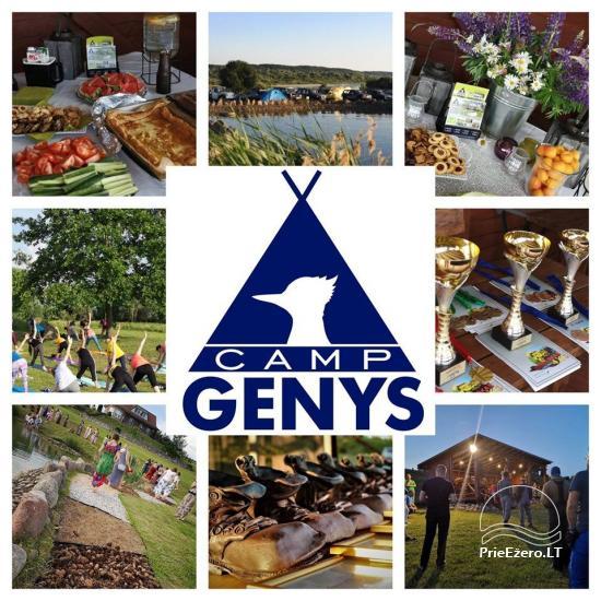 Summer campsite ''Camp Genys'' near the river Nemunas - 14