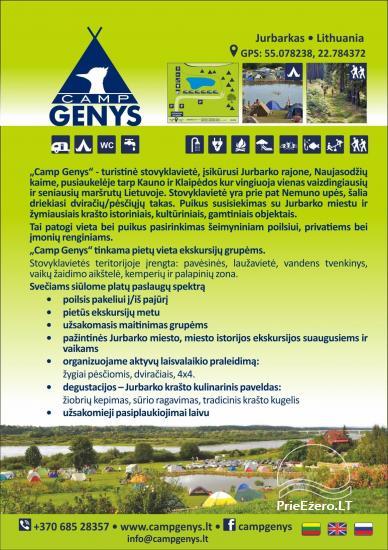 Summer campsite ''Camp Genys'' near the river Nemunas - 15